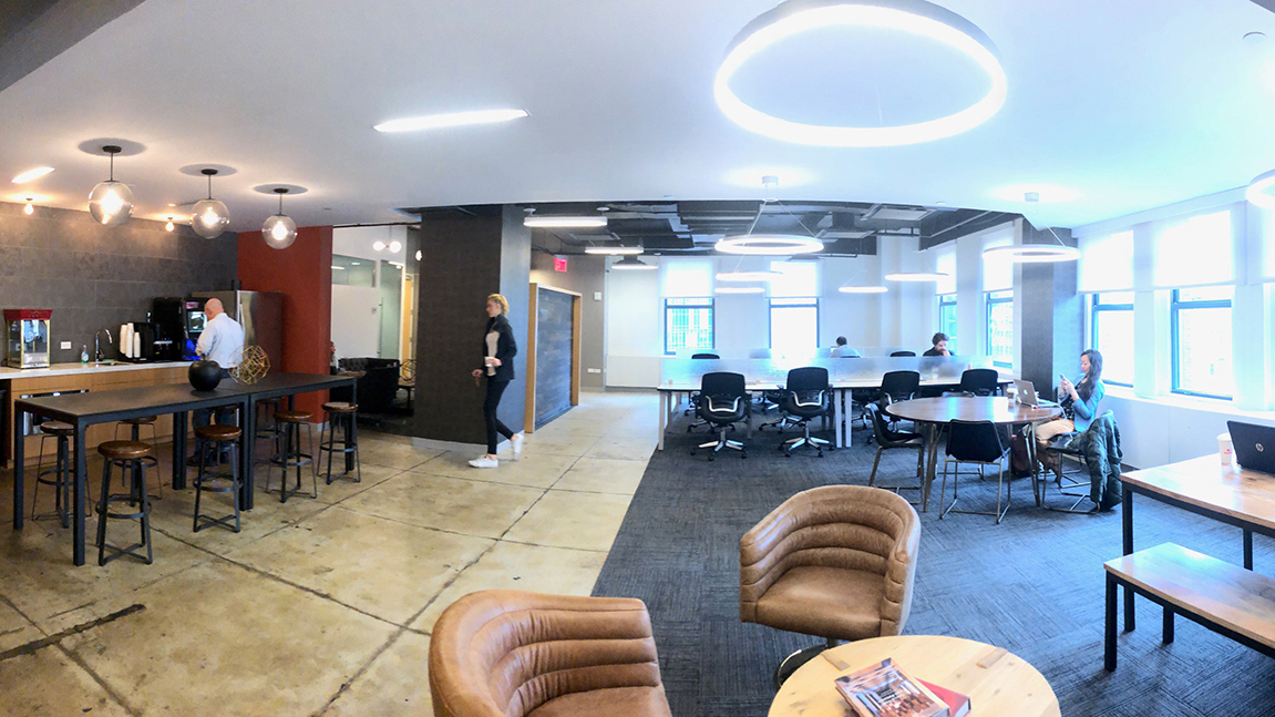 2 Park Avenue Co-Working and Cafe Area