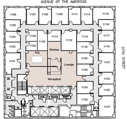 Rent Office Space At Penn Station 1001 Avenue Of