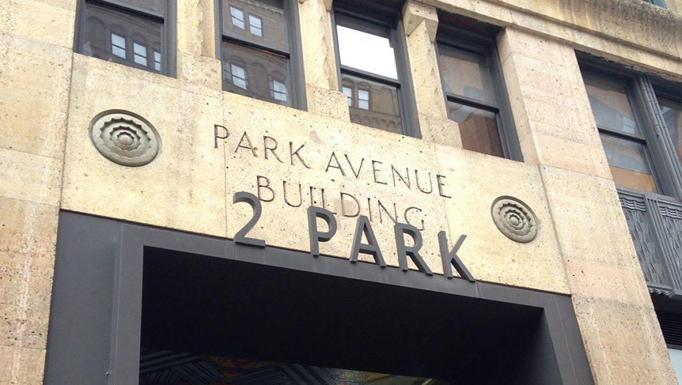 2 Park Avenue Entrance