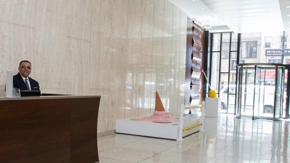 1001 Avenue of the Americas Lobby