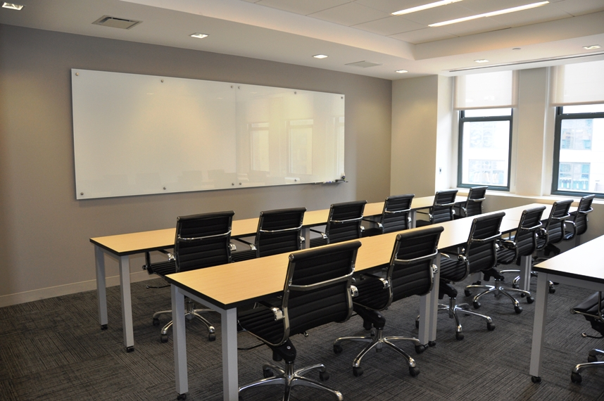 NYC Training Room With A Whiteboard